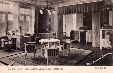 Hotelli Centralin huone nro 24