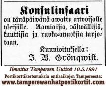 Kuuttisia Konsulinsaaressa 1891