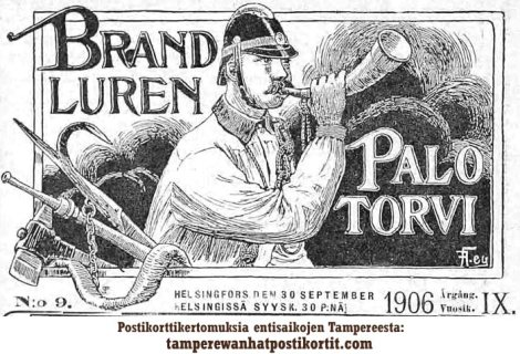 Brandluren / Palotorvi 1906